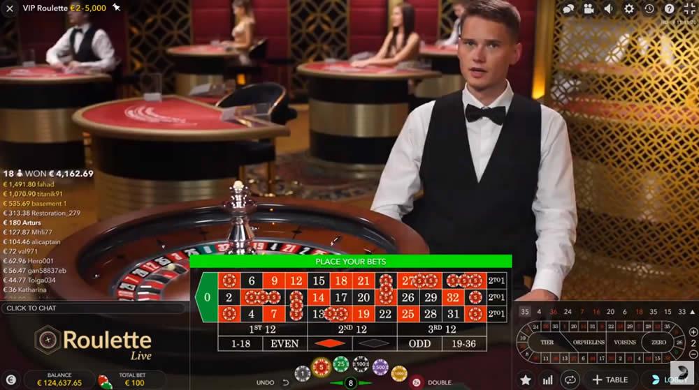 ライブルーレット カジノ